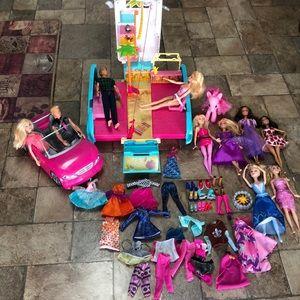 Huge Barbie bundle!